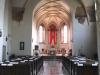 Wnętrze kościoła i krużganki